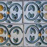 emblems tiles rome downtown