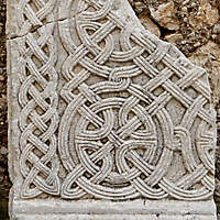 old stone plate 1