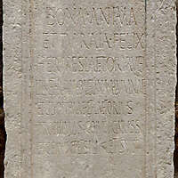 old stone plate 3