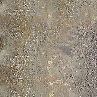 aged concrete pavment wet