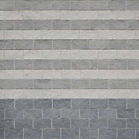 concrete bricks grey and white