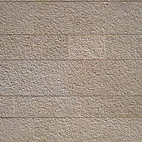 corrugated architecture stone