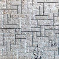 white stone tiles messy 1
