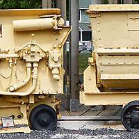 rocker shovel loader wagon