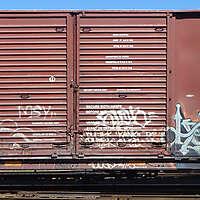 train wagon rusty 17