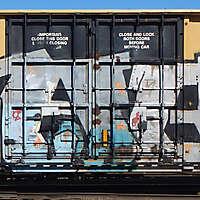 train wagon rusty 19