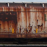 train wagon rusty 1