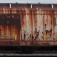 train wagon rusty 1