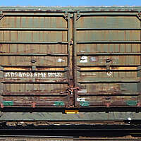 train wagon rusty 20
