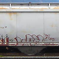 train wagon rusty 2
