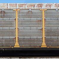 train wagon rusty 9