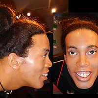 man black skin face 2