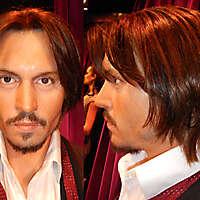 Johnny Depp face texture