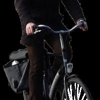 man biking alpha