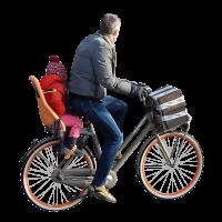 man on bike alpha