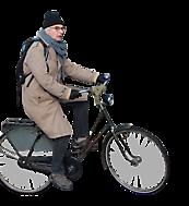 old man on bike alpha