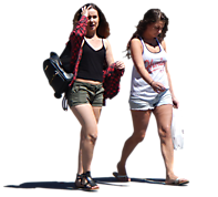 urban people girls
