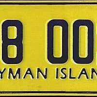 cayman car plate 3