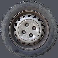 dirt rubber tire