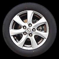mazda rim and tire