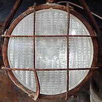 rusty excavator light