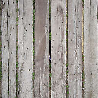 wood planks grey corrugated old fence 3