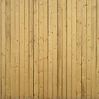 wood planks yellow fence