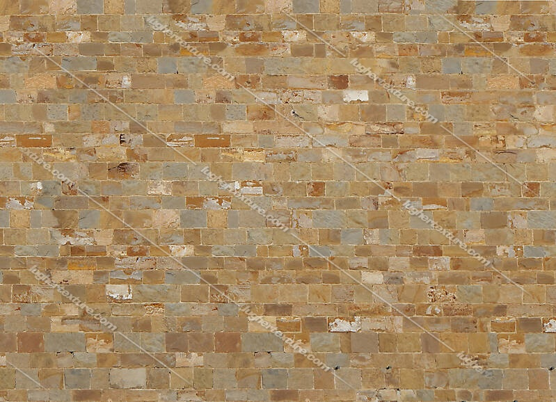 various colors stone bricks