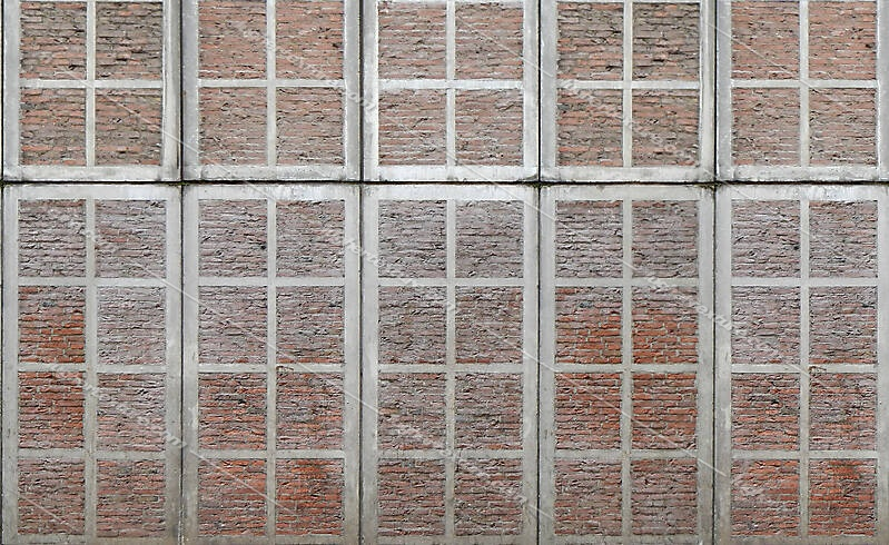 bricks wall panels