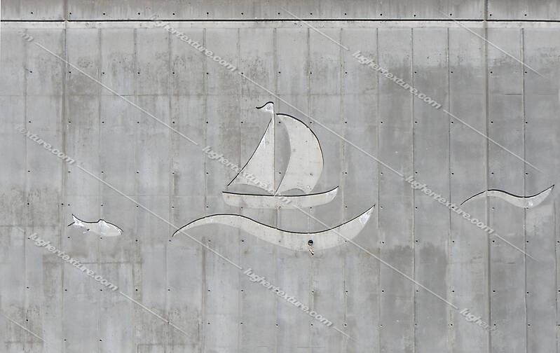 concrete wall seal boat