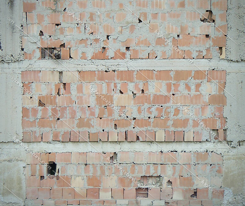 italian bricks old and broken dirt 5