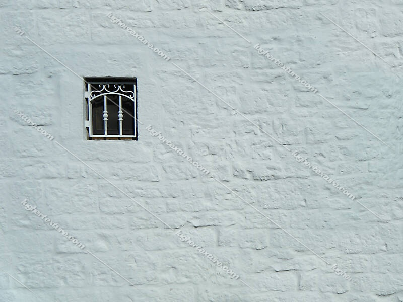 painted wall with window