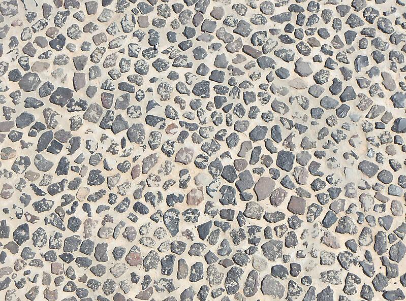 Texture Portuguese Pebble Floor 2 Medieval Pavement