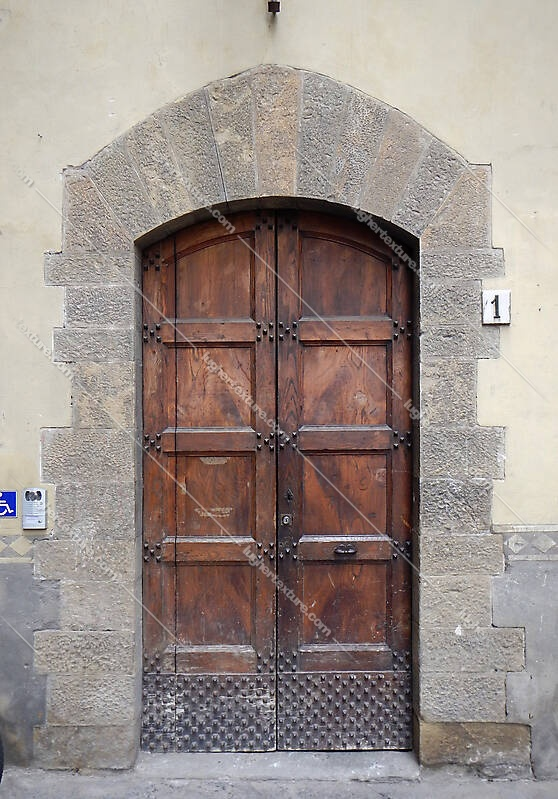 medieval old wood door 3