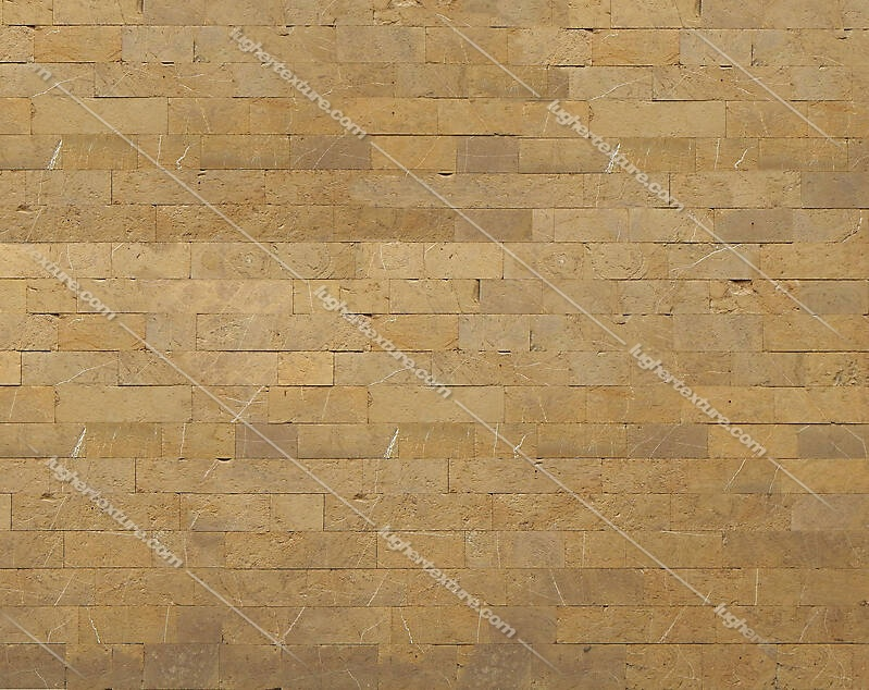 medieval yellow stone bricks wall 5