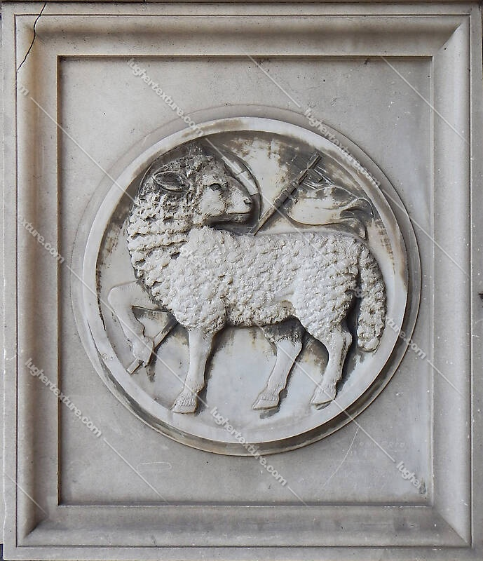 old stone emblem from florence 22