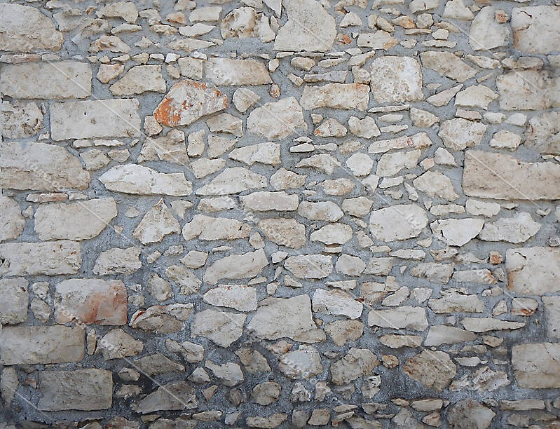 medieval messy stones wall 9