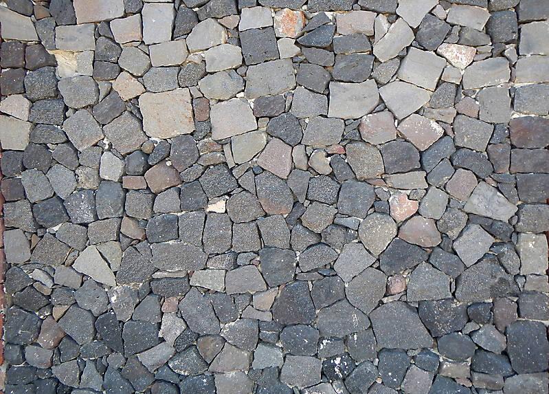 Medieval Black Stones Floor 3