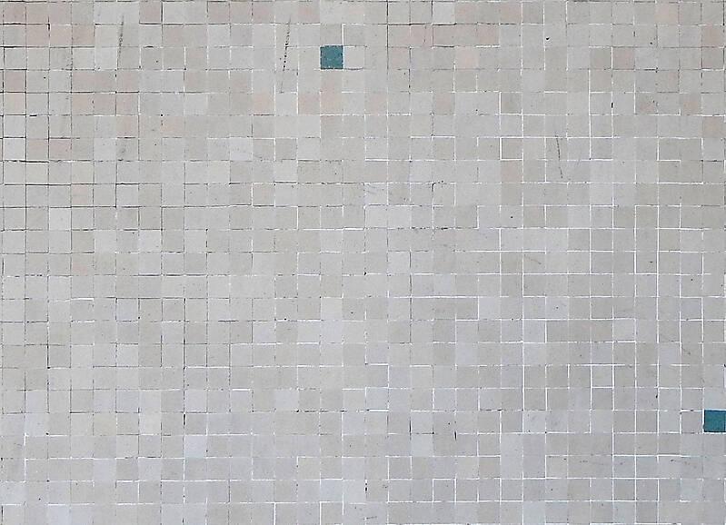 Texture White Modern Mosaic Tiles Mosaic Lugher