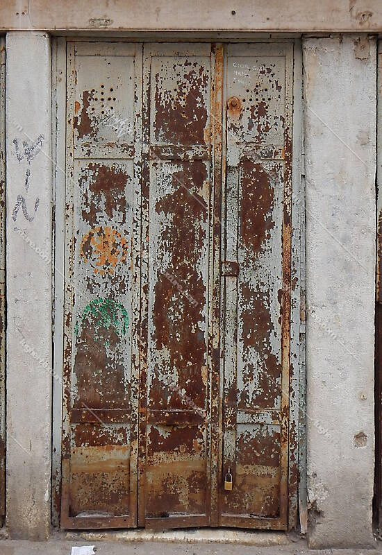 Texture Rusted Metal Door From Venice 2 Metal Doors