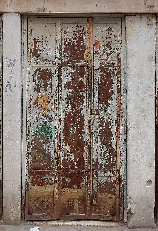 Texture Rusted Metal Door From Venice 2 Metal Doors