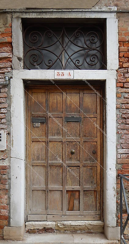 wooden door from venice 6