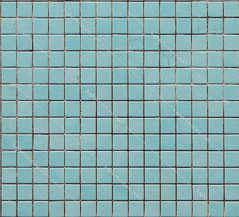 Mosaic Pool Tiles Green