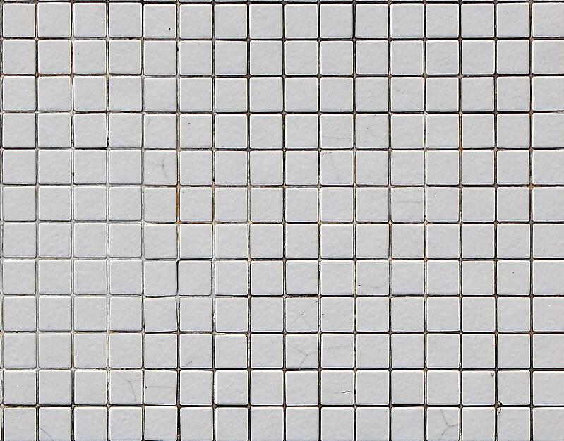 Mosaic Pool Tiles White