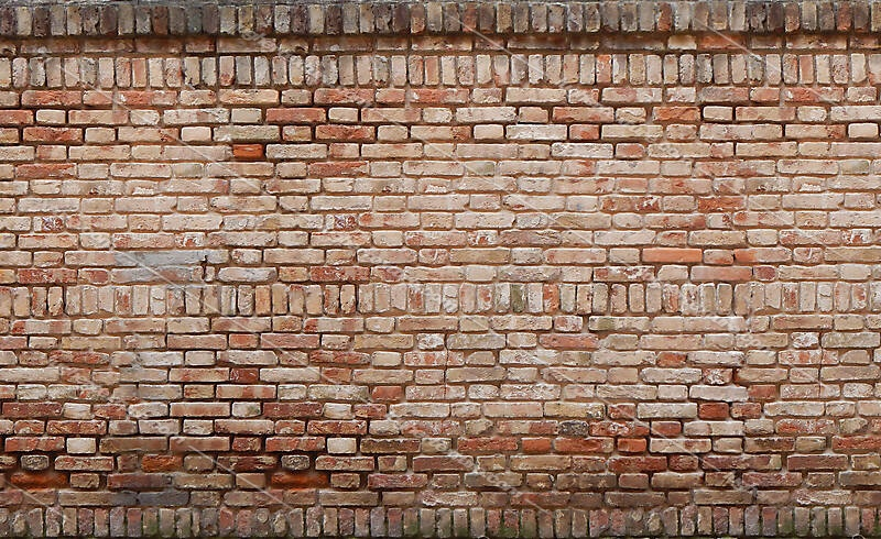 european bricks wall