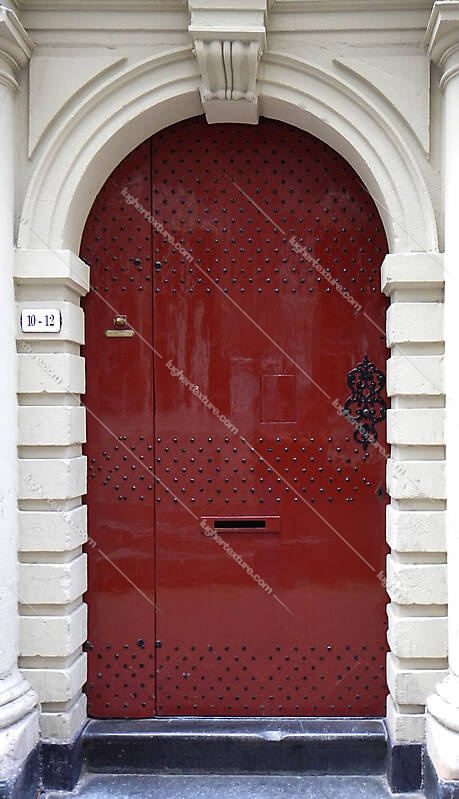 neoclassical wood door 15