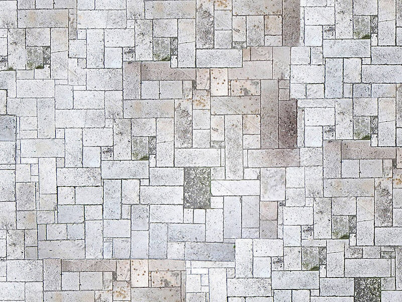 white stone blocks floor 3