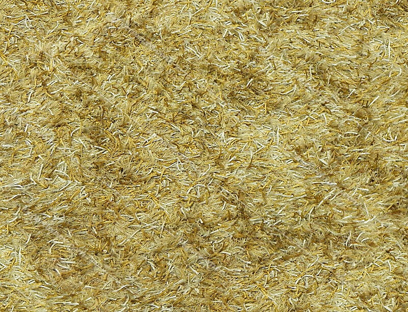 Texture Hairy Carpet Yellow Carpet Lugher Texture