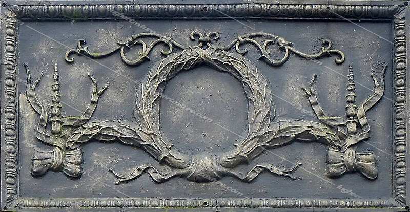 old copper frame ornaments