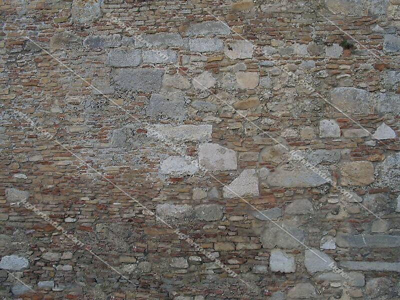 old wall tile italian 1700 architecture 22